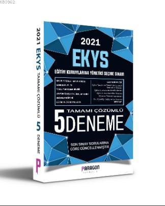2021 Paragon Yayıncılık EKYS Müdür ve Müdür Yardımcılığı Çözümlü 5 Deneme