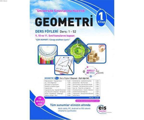 EIS - YKS Ders Anlatım Föyleri Geometri 1.Kitap