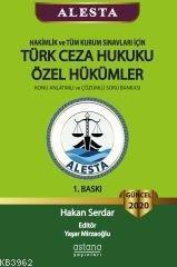 Alesta Türk Ceza Hukuku Özel Hükümler