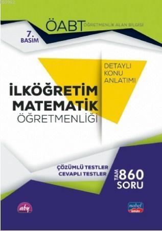 ÖABT İlköğretim Matematik Öğretmenliği Öğretmenlik Alan Bilgisi; Detaylı Konu Anlatımı