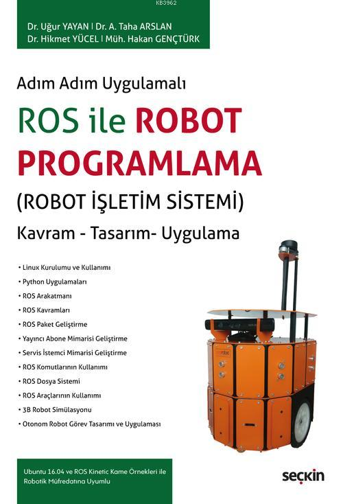 ROS ile Robot Programlama (Robot İşletim Sistemi)
