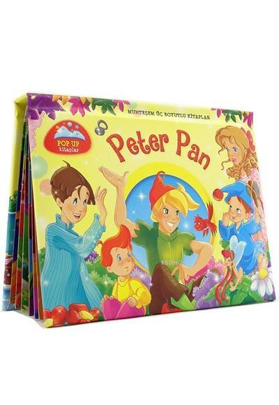 Peter Pan - Muhteşem Üç Boyutlu Kitaplar