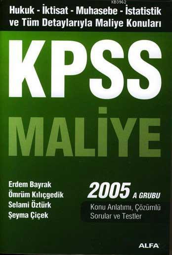 Kpss Maliye 2005 A Grubu