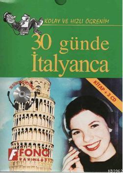 30 Günde İtalyanca; (Kitap+3 CD)