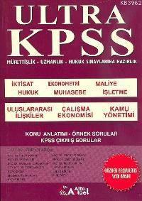 Ultra Kpss 2004 A Grubu; Müfettişlik - Uzmanlık -hukuk Sınavlarına Hazırlık