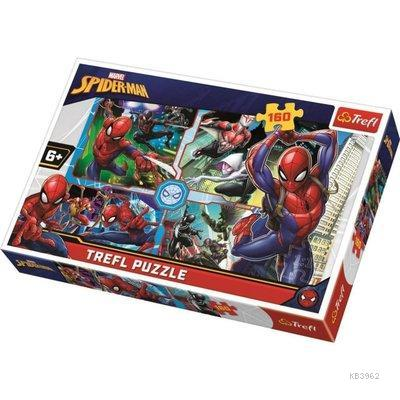 Trefl Puzzle 15357 Spiderman to Rescue 160 Parça