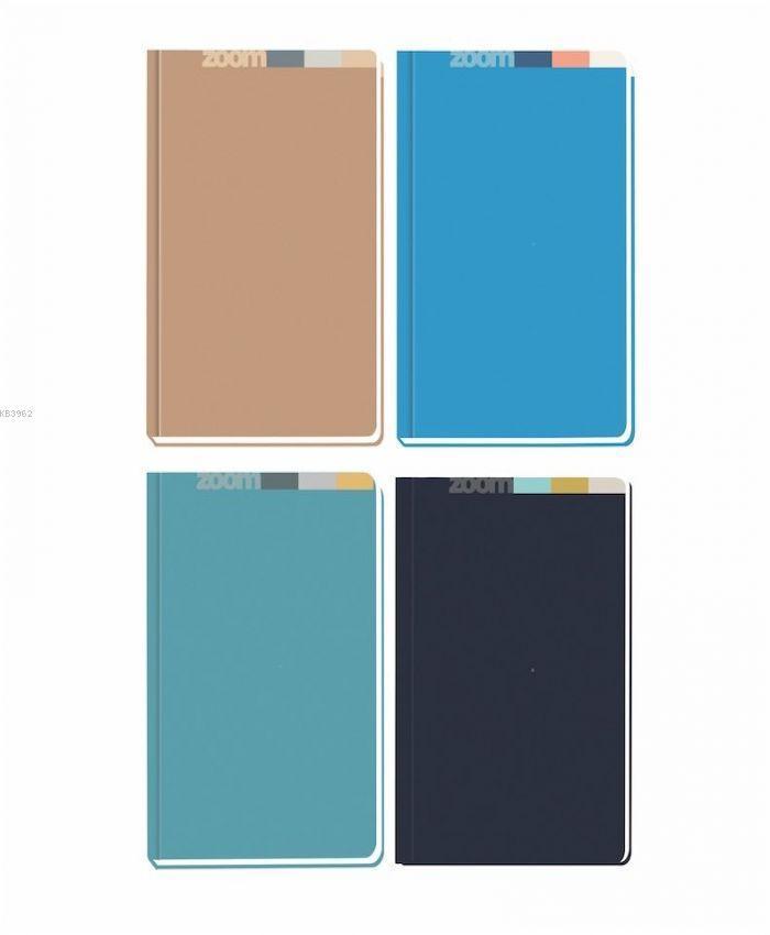 K.Color 20*28 400 Yp.Çizgili Zoom S.Kp.Ciltli Def..