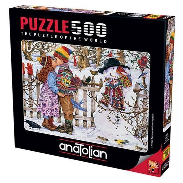 Anatolian Puzzle 500 Parça İlk Öpücük 3607