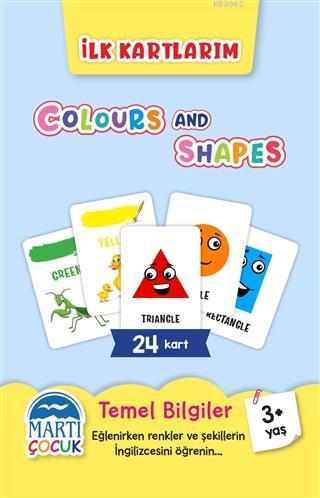 İlk Kartlarım - Colours and Shapes
