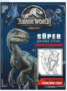 Jurassic World - Süper Boyama Kitabı
