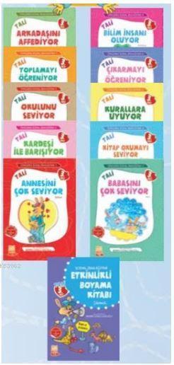 Öykülerle Sosyal Zeka Eğitimi (Tali 3) - (10 Kitap Takım)