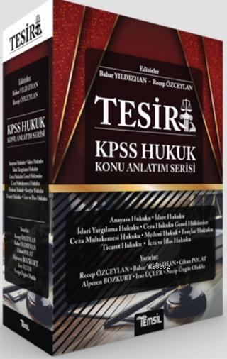 Tesir KPSS Hukuk Konu Anlatım Serisi
