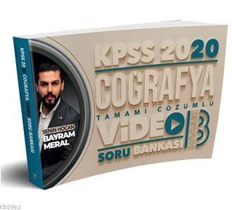 2020 KPSS Coğrafya Tamamı Çözümlü Video Soru Bankası Benim Hocam Yayınları
