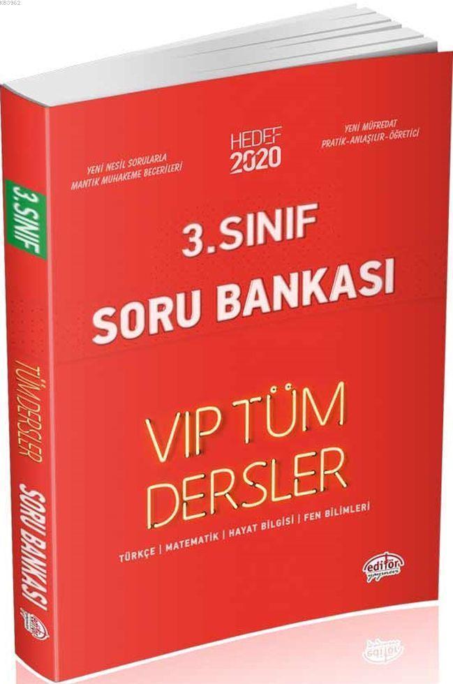 3. Sınıf VIP Tüm Dersler Soru Bankası