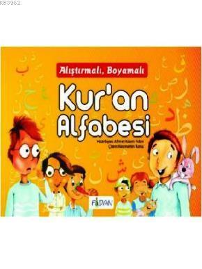 Alıştırmalı Kur'an Alfabesi Boyama