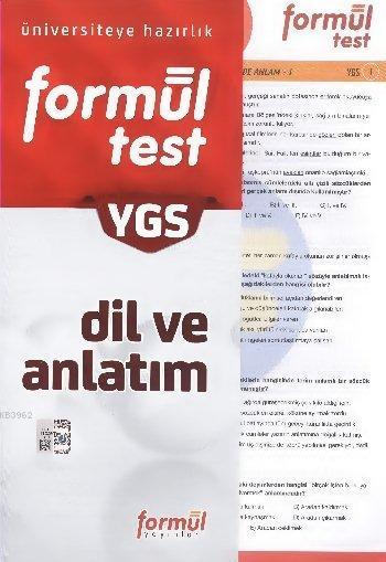 YGS Dil ve Anlatım Yaprak Test