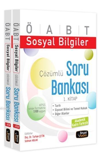 ÖABT Sosyal Bilgiler Çözümlü Soru Bankası 2015