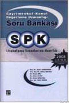 SPK Gayrimenkul  Konut Değerleme Uzmanlığı Soru Bankası