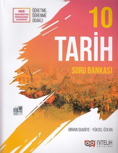 Nitelik Yayınları 10. Sınıf Tarih Soru Bankası Nitelik