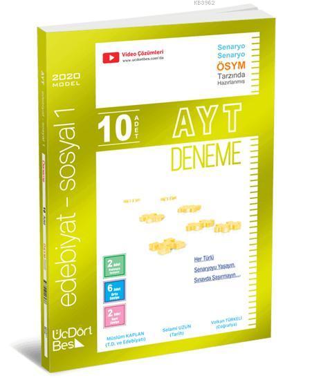 AYT 10'lu Edebiyat Sosyal 1 Denemesi
