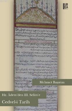 Hz.Adem'den III. Selim'e Cedvel-i Tarih