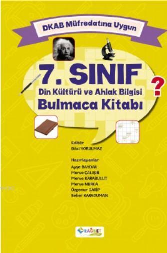 7. Sınıf Din Kültürü ve Ahlak Bilgisi Bulmaca Kitabı