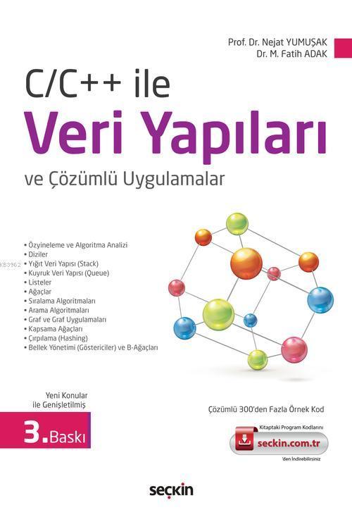 C/C++ ile Veri Yapıları ve Çözümlü Uygulamalar