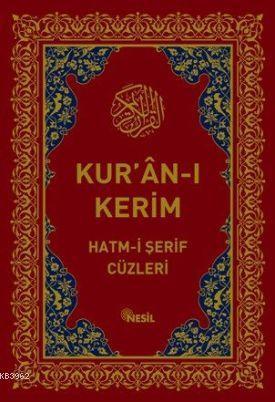 Kur'an-ı Kerim Hatm-i Şerif Cüzleri (Kutulu)