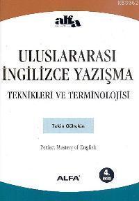 Uluslararası İngilizce Yazışma Teknikleri ve Terminolojisi