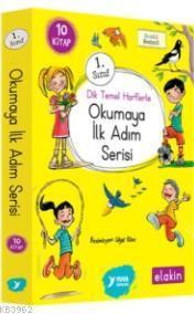 1. Sınıf ''Dik Temel Harflerle'' Okumaya İlk Adım Serisi; (Elakin) Yeni Ses Grupları 10 Kitap