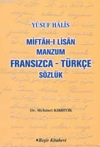 Miftah-ı Lisan Manzum (Fransızca-Türkçe Sözlük)