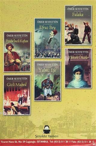 Ömer Seyfettin Hikayeler (12 Kitap Takım); (1884-1920)