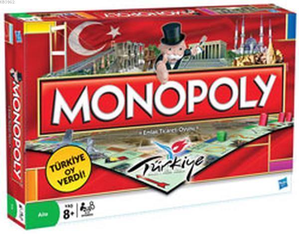 Hasbro Monopoly Türkiye 01610