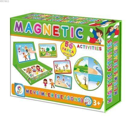 Utku Oyuncak Magnetic Aktiviteler Mevsimler