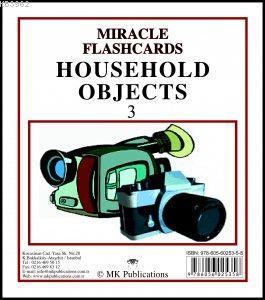 Miracle FlashCards - Household Objects 3