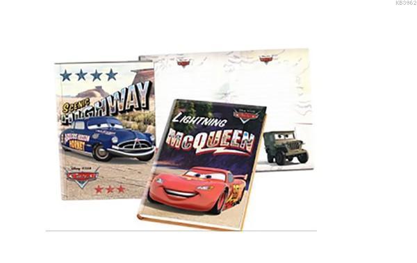 Cars 14*20 104 Yp.Kilitli Hatıra Def..