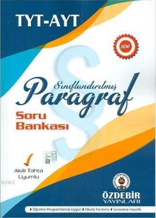 Özdebir TYT AYT Paragraf Soru Bankası