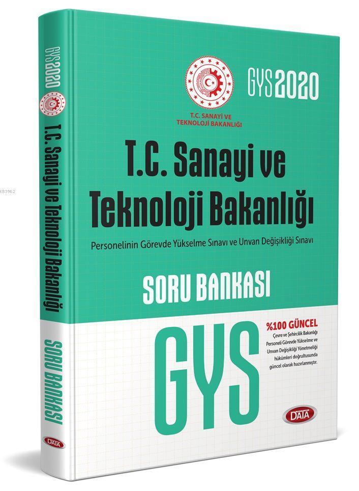 Data Yayınları 2020 GYS T.C. Sanayi ve Teknoloji Bakanlığı Soru Bankası