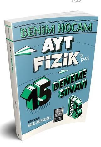 2020 AYT Fizik 15 Deneme Sınavı Benim Hocam Yayınları