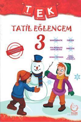 Palme Yayınları 3. Sınıf Tek Tatil Eğlencem Seti Palme