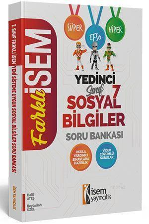 İsem Yayınları 7. Sınıf Sosyal Bilgiler Soru Bankası İsem