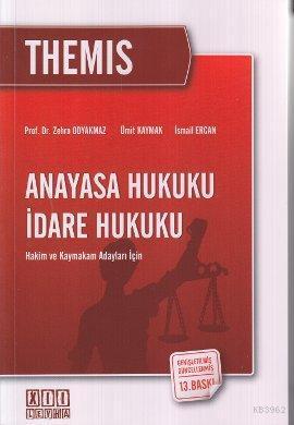 Hakim ve Kaymakam Adayları İçin  Anayasa Hukuku İdare Hukuku