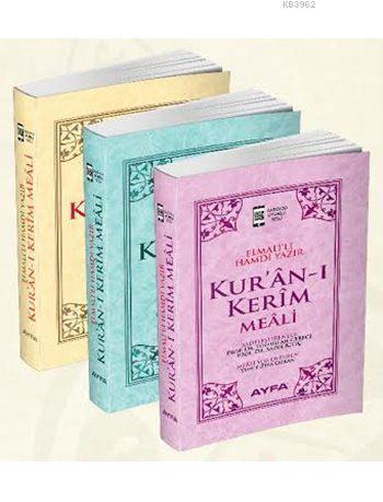 Kur'ân-ı Kerîm Meâli (Metinsiz-Kod:109)