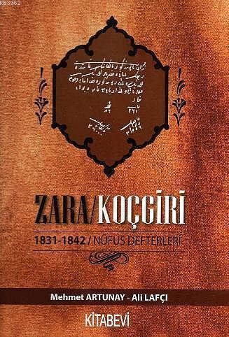 Zara Koçgiri 1831-1842 Nüfus Defteri