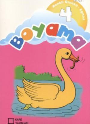 Renkli Örnekli Eğitici Boyama 4