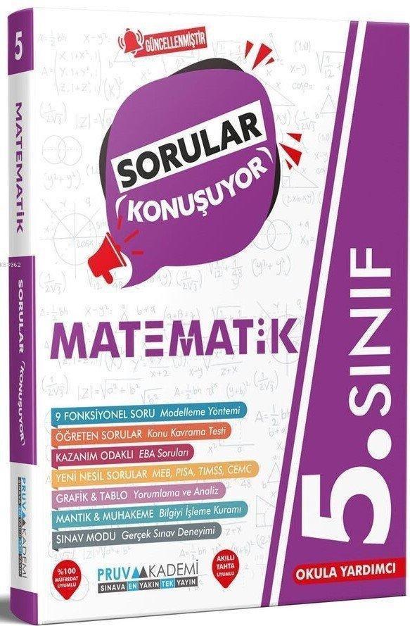 Pruva 5.Sınıf Matematik Sorular Konuşuyor 2021