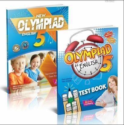 5 Sınıf Yeni Olimpiyat İngilizce; Test Kitabı 2 Kitap Set
