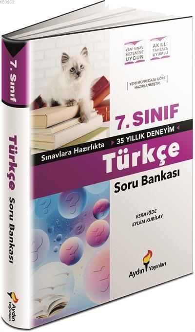 Aydın Yayınları 7. Sınıf Türkçe Soru Bankası Aydın