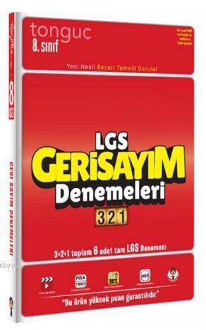 Tonguç Akademi 8. Sınıf LGS Geri Sayım Denemeleri 321