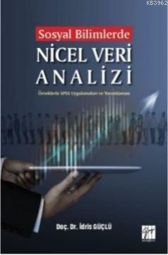 Sosyal Bilimlerde Nicel Veri Analizi-Örneklerle SPSS Uygulamaları ve Yorumlamaları